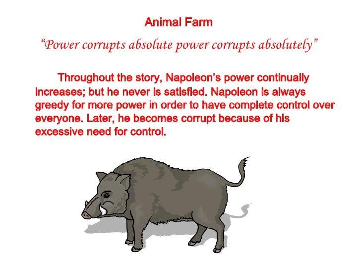 animal farm leadership and corruption essay