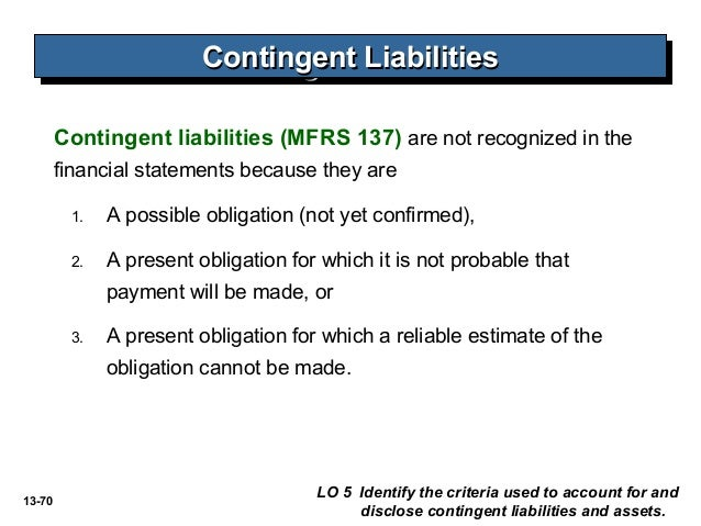 accounting for contingencies disclosure of business Accounting journal entries image  journal entry — disclosure of certain loss  contingencies.