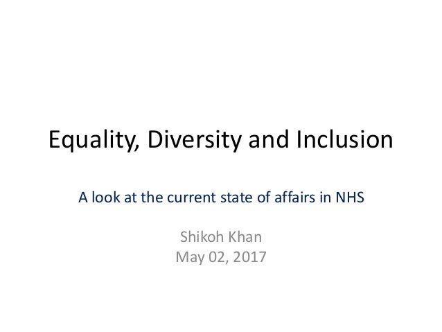 equality diversity and inclusion in dementia care essay Equality, diversity and inclusion in dementia care practice an online course for those who provide care for individuals with dementia.