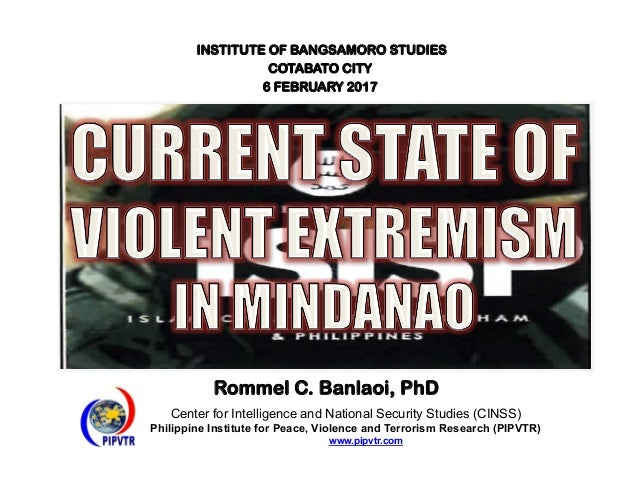 Center for Intelligence and National Security Studies (CINSS) Philippine Institute for Peace, Violence and Terrorism Resea...