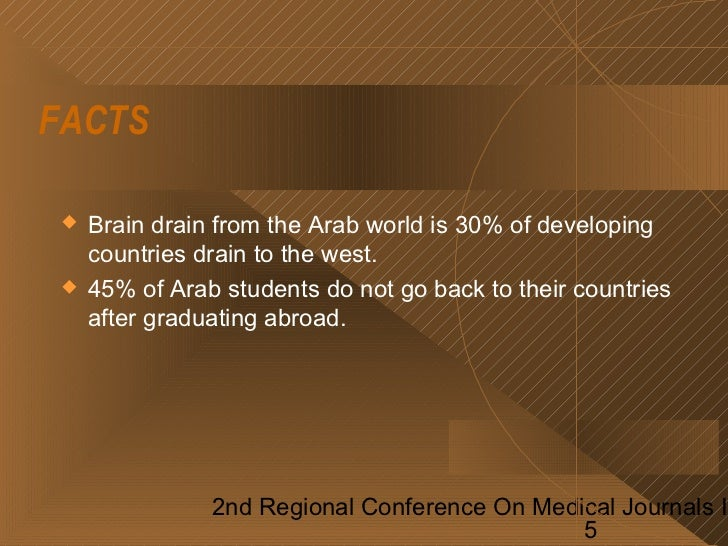 Current Status Of Research In The Arab World Region - Facts about the west region