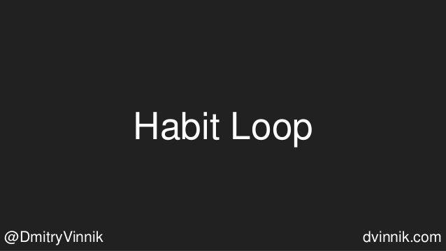 Habit Loop @DmitryVinnik dvinnik.com