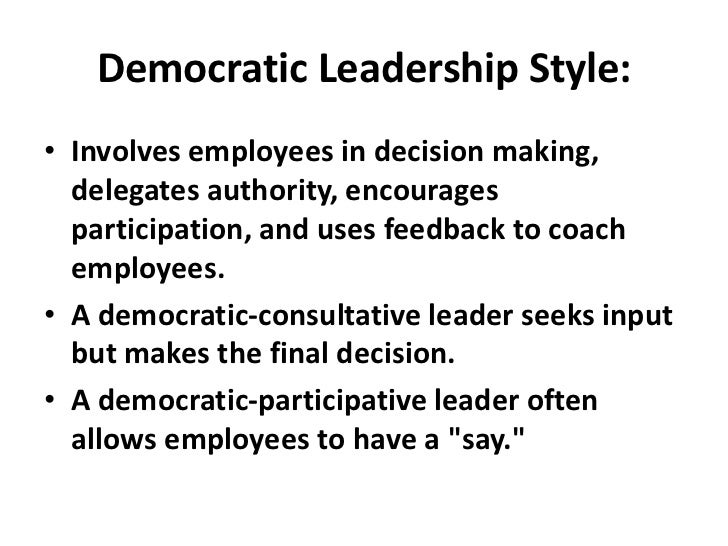 impact of democratic leadership style on image of google Democratic leadership style and that most teachers were satisfied with their jobs in relation to the leadership style in place keyeords: leadership style, democratic, autocratic, laissez faire, transactional, relationship.