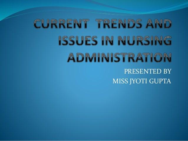 PRESENTED BY MISS JYOTI GUPTA