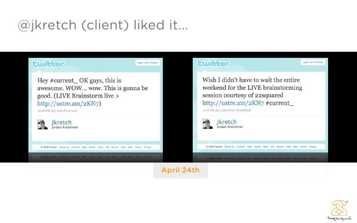 @jkretch (client) liked it...                             April 24th