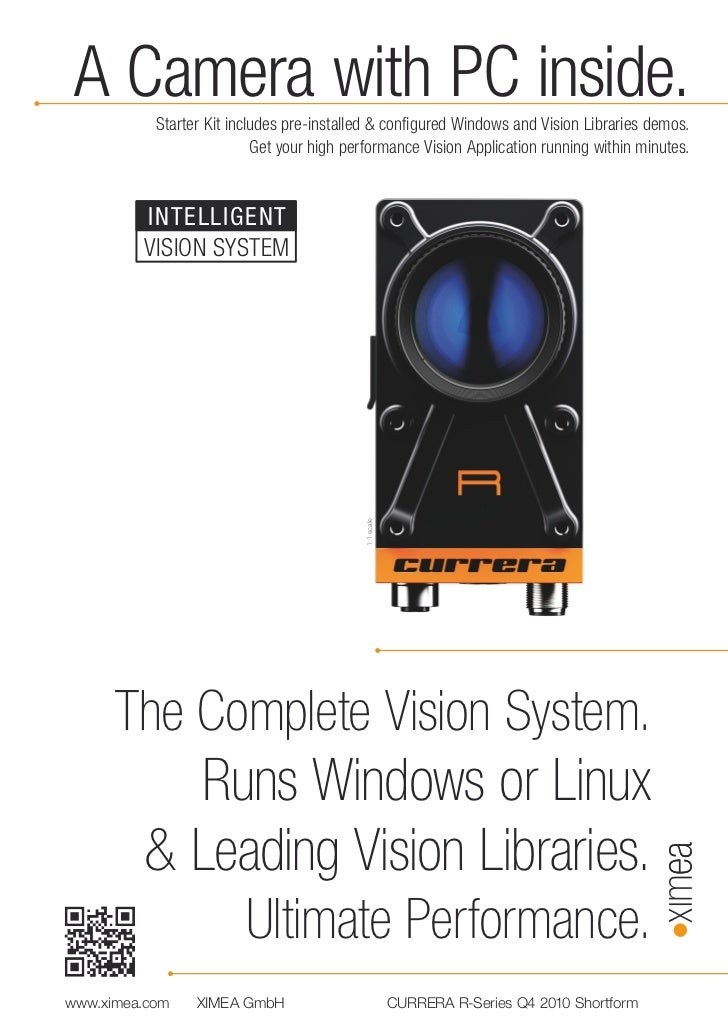A Camera with PC inside.           Starter Kit includes pre-installed & configured Windows and Vision Libraries demos.    ...