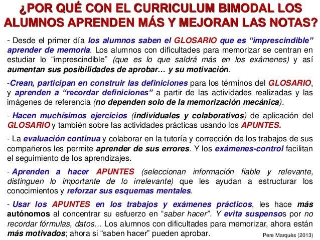"""- Desde el primer día los alumnos saben el GLOSARIO que es """"imprescindible"""" aprender de memoria. Los alumnos con dificulta..."""