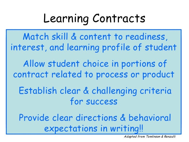 learning contract Macalester internship requirements completing the learning contract you and your faculty sponsor should work together to plan all aspects of your internship and complete the learning contract.