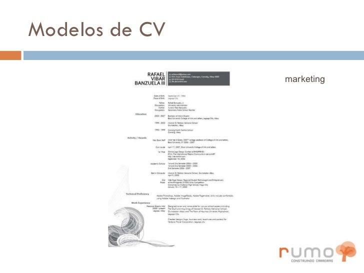 Modelos de CV marketing