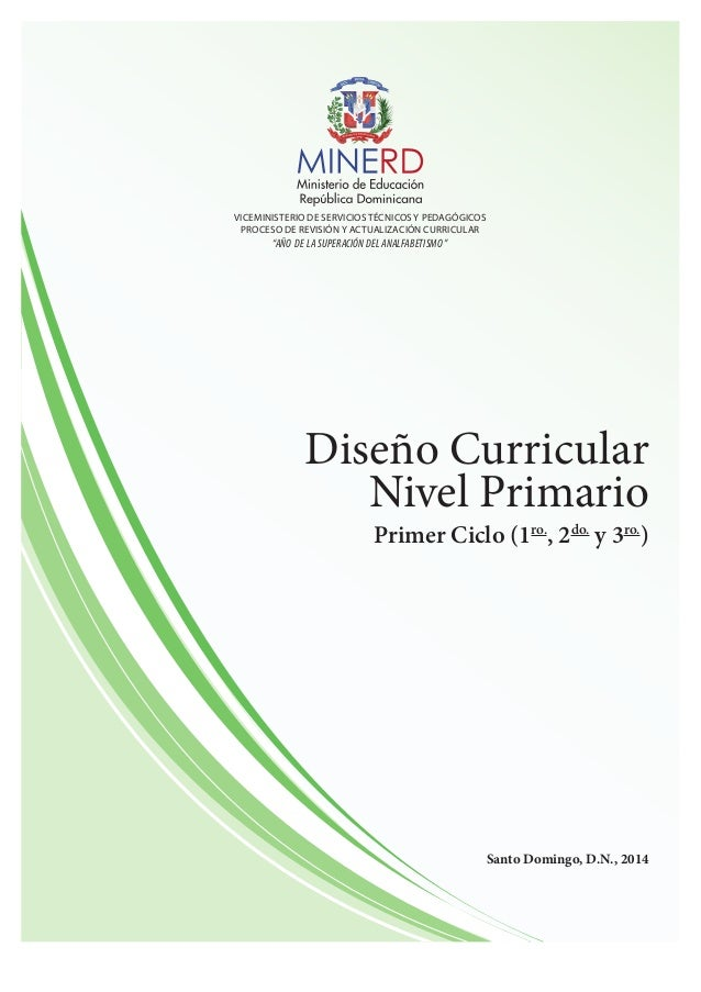 Diseno curricular nivel primario 1er ciclo for Curriculum de nivel inicial