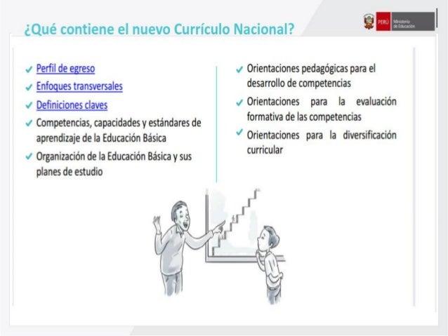 Curriculo nacional retos y an