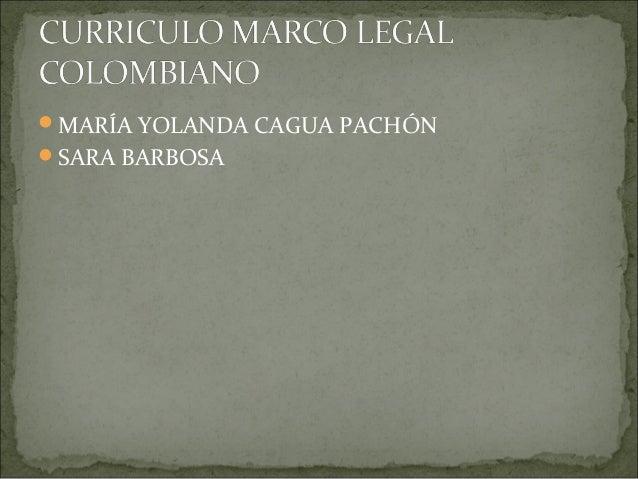 MARÍA YOLANDA CAGUA PACHÓNSARA BARBOSA