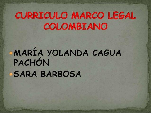  MARÍA YOLANDA CAGUA  PACHÓN SARA BARBOSA