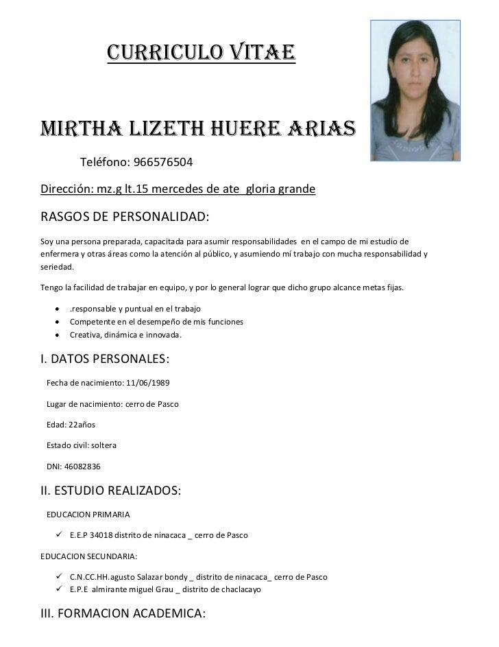 Formato De Curriculum Vitae Para Auxiliar De Enfermeria   Portal De Empleo    Enfermería JW | Noticia  Formato De Resume