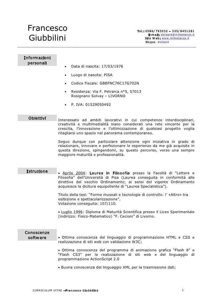 Francesco                                                      Tel.:0586/ 793032–335/ 8451281                        ...