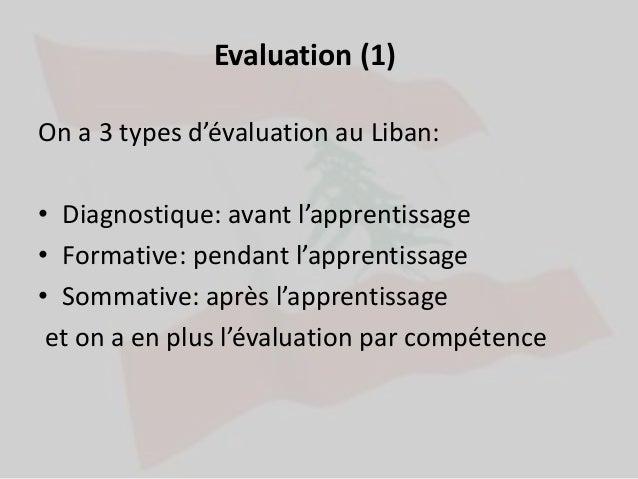 comparaison entre curriculum libanais et qu u00e9b u00e9cois
