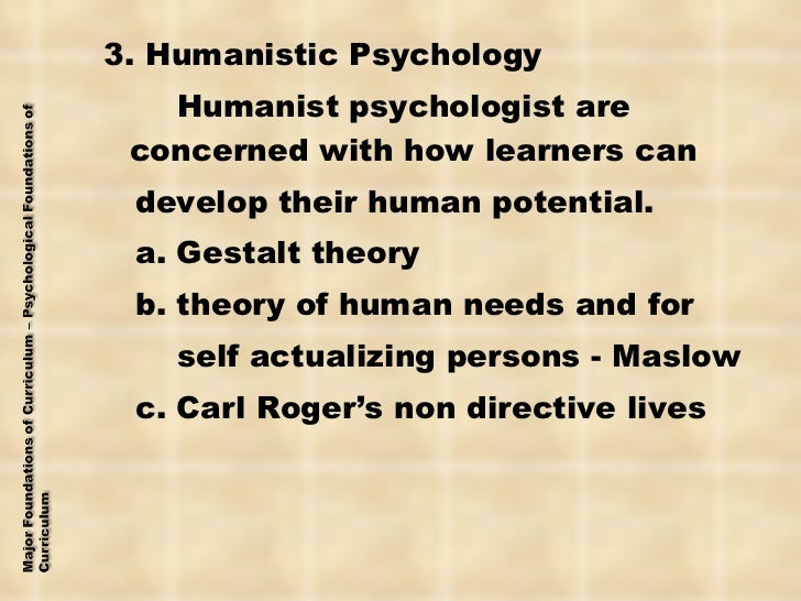 similarities between gestalt and humanistic Humanistic theories shift the  the main similarity between person centered and gestalt therapy are that  client autonomy there are more similarities than.