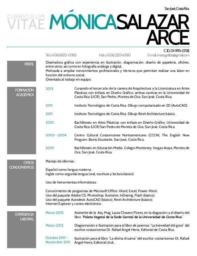Curriculum for Curriculum arquitecto