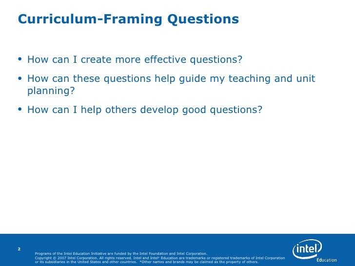 Curriculum Framing Questions Part 2 En