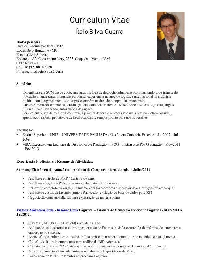 Curriculum italo guerra ptbr version for Curriculum arquitecto