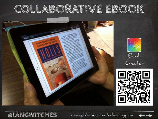 @LANGWITCHES www.globallyconnectedlearning.com EBOOKS TO SHARE Book Creator