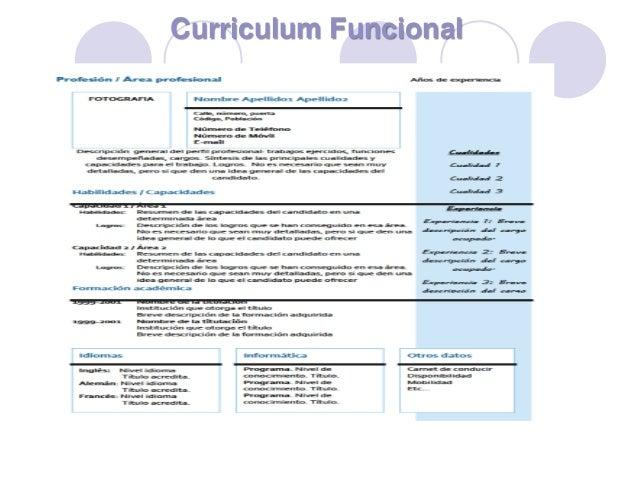 Modelo Curriculum Vitae Combinado Mixto