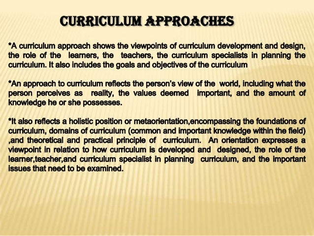 Comparing Educational Philosophies