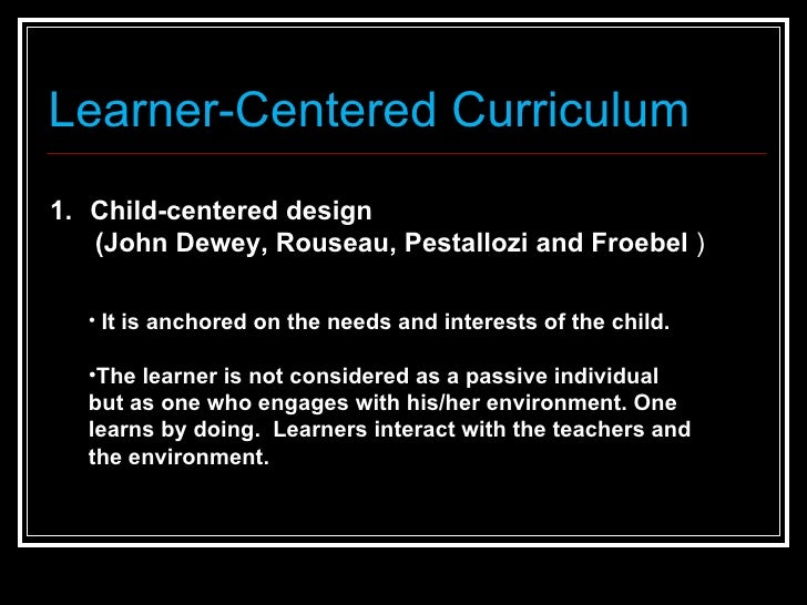 advantages of student centered learning