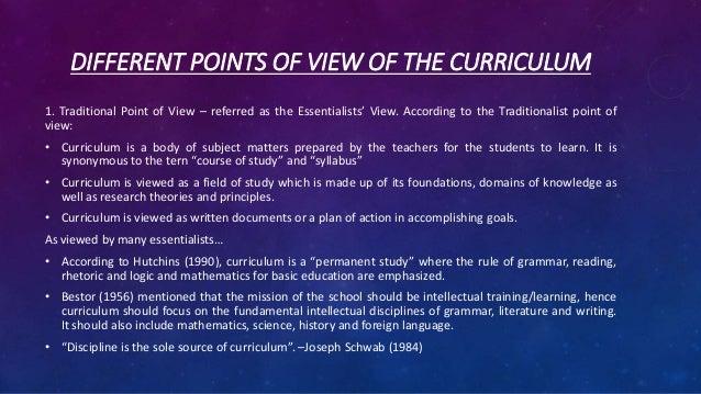 allan glatthorn seven types of curriculum