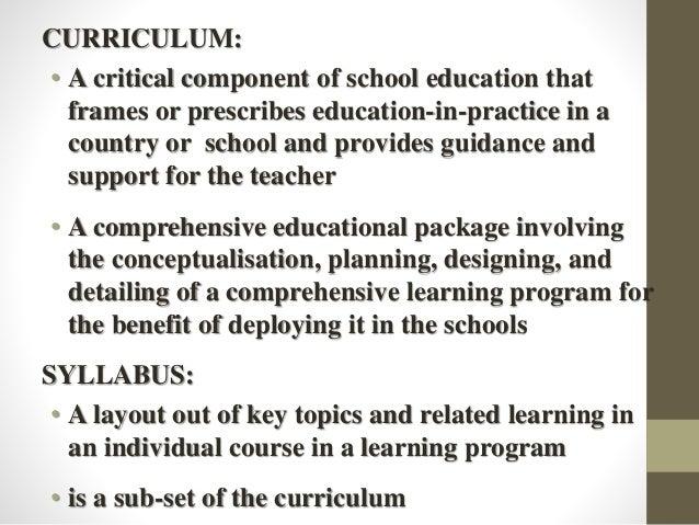 Curriculum Development by Jamshah Slide 2