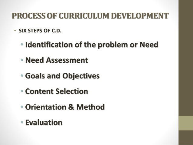 Curriculum Development by Jamshah Slide 3
