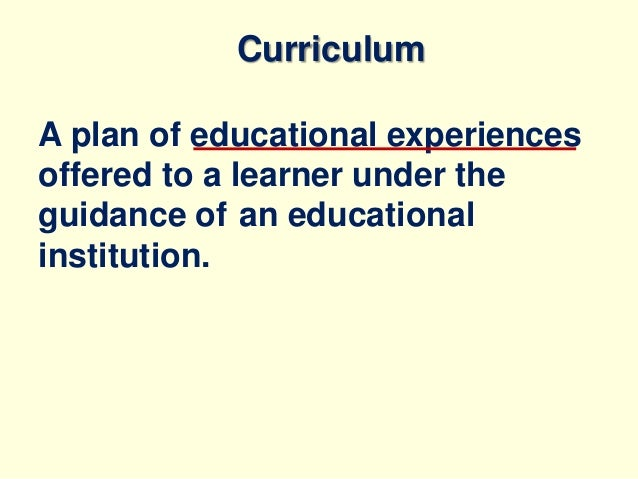 curriculum development in higher education