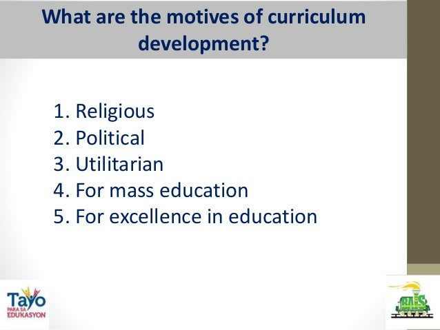 curriculum development in philippines Development of the basic education level curriculum is the responsibility of the central office bureau of elemen- tary and secondary education, curriculum development.