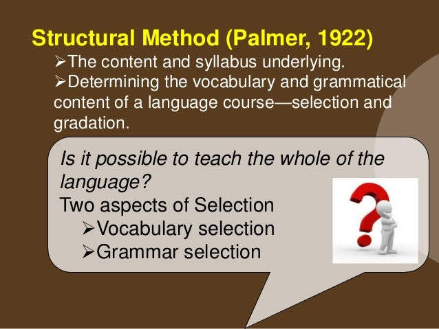 Vocabulary selection :   Why do you need vocabulary selection?    How do you make vocabulary selection?