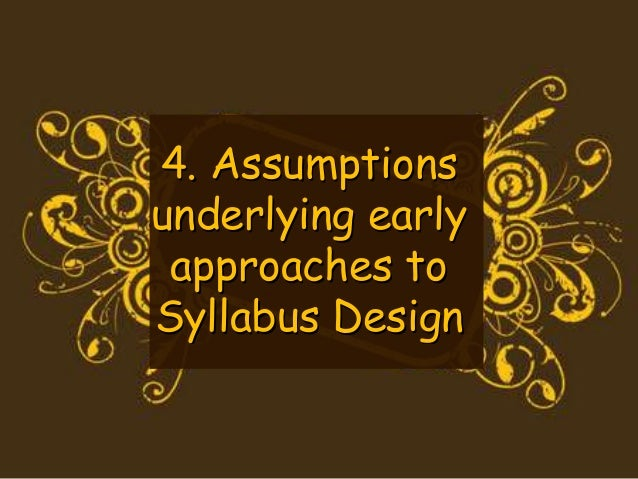 """2. Learners have the same needs  The focus was on """"general"""" English.  Core vocabulary + grammatical syllabus  The basic fo..."""