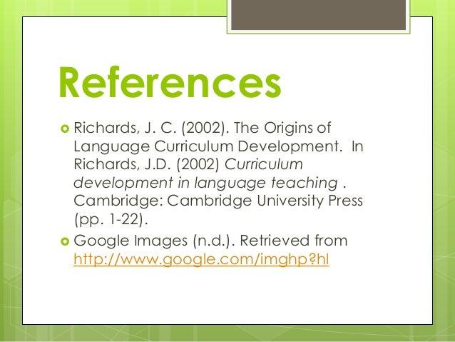 Curriculum Development Lecture (Language)
