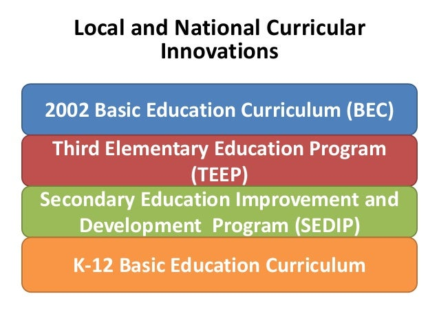 k 12 basic education program reaction K to 12 basic education program do no 73, s 2012 - guidelines on the assessment and rating of learning outcomes under the k to 12 basic education.