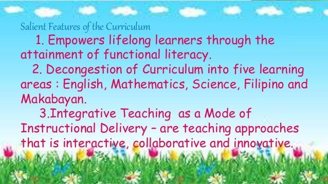 curriculum development repport