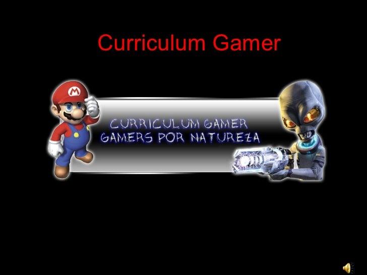 Curriculum Gamer