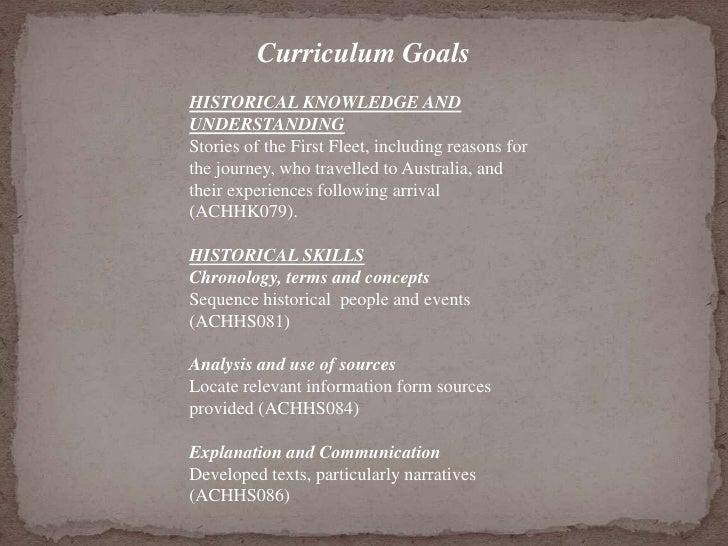 Curriculum ideas