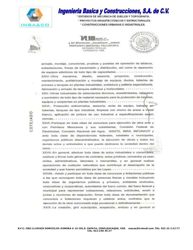 Curriculum inbayco 2014 promocion-