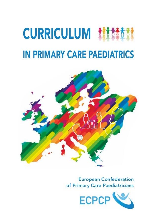 European Confederation  of Primary Care Paediatricians