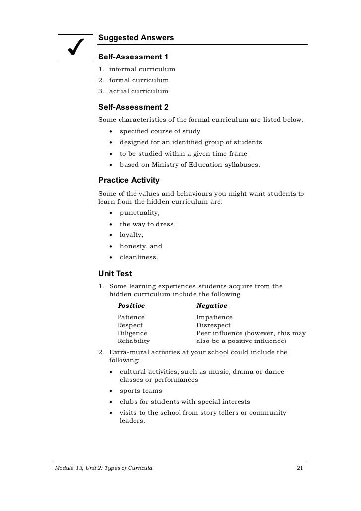what is hidden curriculum essay The hidden curriculum of the education system 3 pages 749 words november 2014 saved essays save your essays here so you can locate them quickly.
