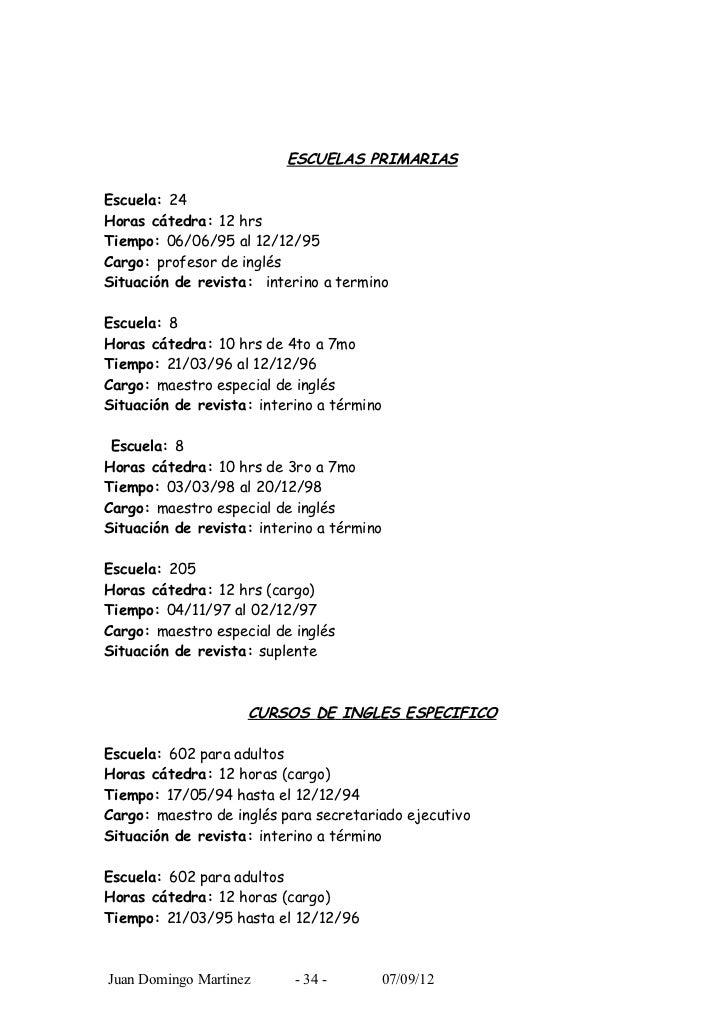 Bonito Currículum Del Maestro Colección - Colección De Plantillas De ...