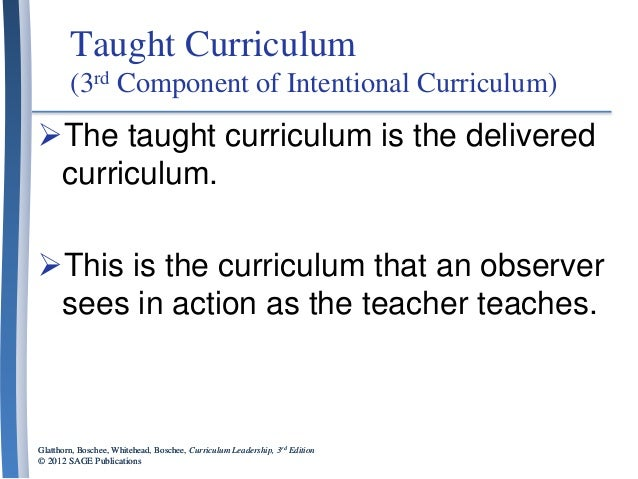 Curriculum leadership chapter 1 powerpoint presentations