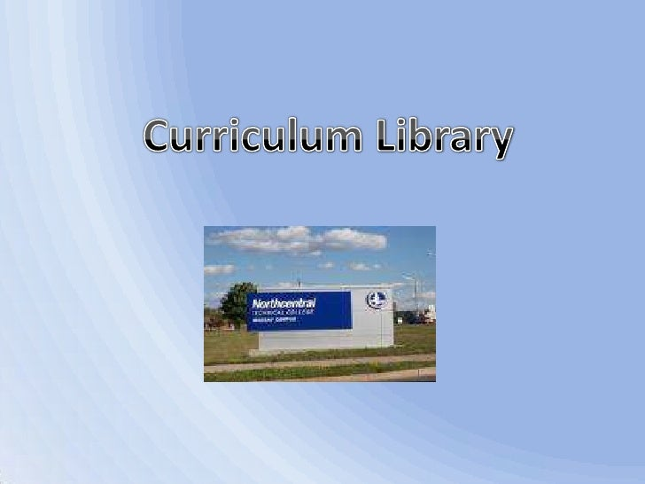 Curriculum Library<br />