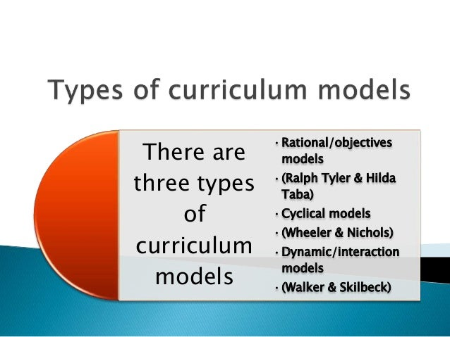 skilbecks curriculum model Content curriculum, also known as subject-driven curriculum, is the best-known model, most often based on selected textbooks that the teacher, school, or stakeholders feel address the required.