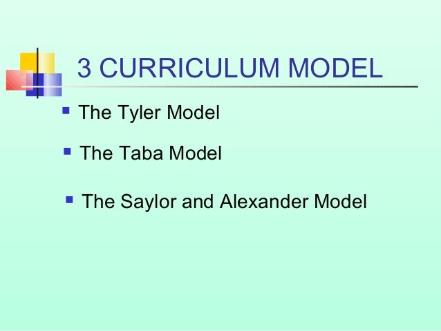 saylor and alexander curriculum model   pdf  supsky