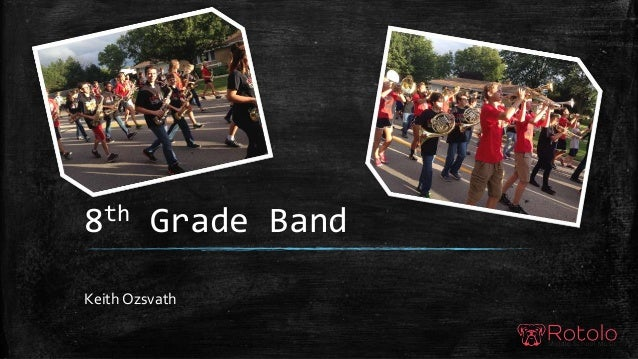 8th Grade Band Keith Ozsvath
