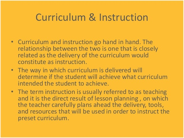 curriculum and instruction dissertation The doctor of education (edd) in curriculum and instruction with a focus on science only six hours of dissertation may count in the program.